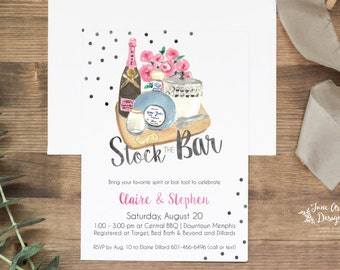 """Stock the Bar Invitation 