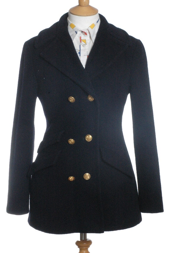 Vintage 1960's Raymond Of London Military Coat 12 - www.brickvintage.com