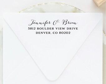 Address Stamp, Self Inking Address Stamp, Custom Stamp, Personalized Stamp, Wedding Stamp, Return Address Stamp, Custom Address Stamp