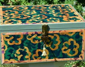 Decorated memory box