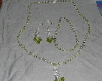 Peridot Jewelry set