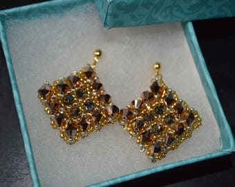 Swarovski Bicones Earrings