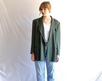 80S vintage ARMANI jacket slouchy oversized blazer