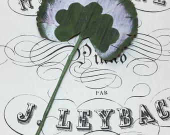 Vintage millinery Gardenia leaves - 24