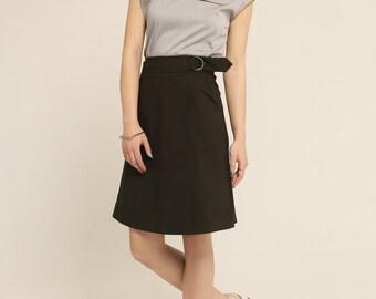 Women blouse - Shirt - top - short sleeves - Pockets - Maguerite Shirt Grey -20%
