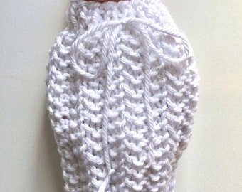 Baby Cocoon - Baby Sack - Newborn Baby Outfit - Newborn Photo Prop - Chunky Knitted Baby Outfit - Baby Accessories - Baby Shower Gift