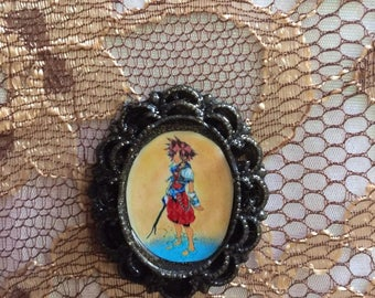 Kingdome hearts sora on the beach necklace