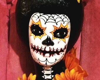 Day of the Dead Geisha Girl