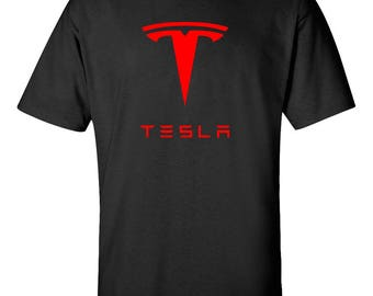 TESLA Model 3 Model S Electric Car Graphic T-Shirt   ***Free Shipping***