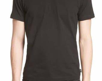 Men's V-Neck T-Shirt (Black) MB-VNK-BLK