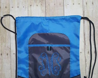 Cinch Sack, Cinch Bag, Gym Bag, Cinch Pack, Monogrammed Cinch Sack