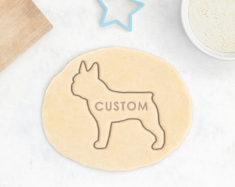 Custom French Bulldog Cookie Cutter - Frenchie Cookie Cutter Custom French Bulldog Cookies Personalized French Bulldog Gift Custom Dog Treat