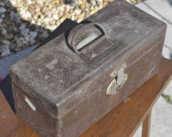 Old Sherman Klove Tackle/Tool Box
