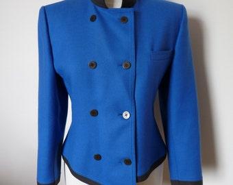 LOUIS FÉRAUD - 80s vintage jacket - size 38