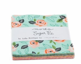 Sugar Pie by Lella Boutique Charm Pack for Moda