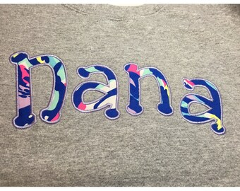 Personalized Sweatshirt, Mothers Day, Nana Sweatshirt, Gifts for Nana, Grandma, Crew Neck Personalized Sweatshirt, Valentine's Day Gift