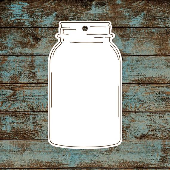 Favor or Gift Tags - Mason Jar Tags #694 - Quantity: 30 Tags