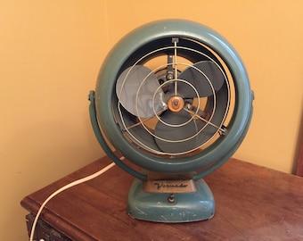 Vintage Vornado Fan/Industrail Table Fan/MCM Desk Fan