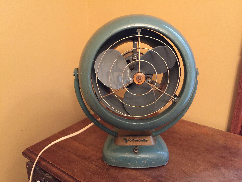 Vornado Desk Fan : Vintage vornado fan industrail table mcm desk