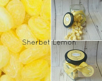 SHERBET LEMON WAX Melts, Lemon Wax Melts, Lemon Wax, Citrus Wax Melts, Lemon Sherbet Wax Melts, Lemon Soy Wax Melts, Lemon Curd Wax Melts