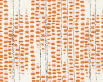 1 Yard Birds Eye View by Sara Watson for Cloud 9 Fabrics-159907 Tapestried Orange