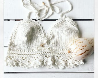 Handmade bohemian top