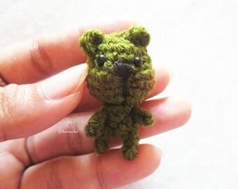 Mini bear doll amigurumi crochet : mini bear,bear, doll,handmade,diy,craft,amigurumi,minidoll,smalldoll,crochet, doll Thailand, handmade