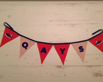 Personalized and Applique Bunting