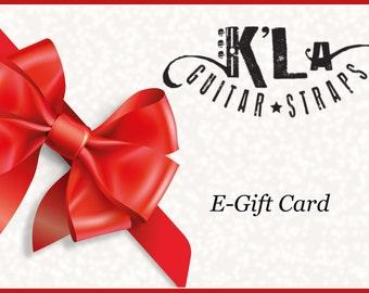 K'La Straps Gift Card