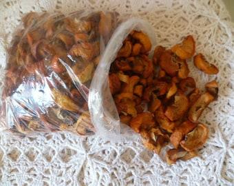 2oz \60grams\ Mountain Wild Dried apples, Organic bag of apple slices tea,