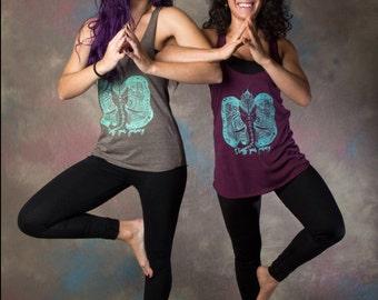 Ganesha yoga shirt-Indian elephant yoga tank top-yoga tank top-yoga tops-trust the journey tank