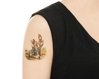 Temporary Tattoo - PETER RABBITS - Various patterns
