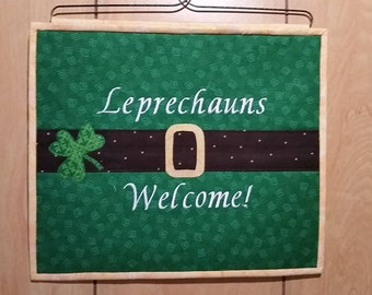 St Patrick's Day Wall Hanging