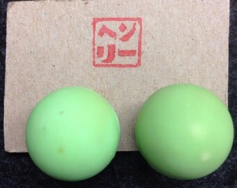 Florescent Superball Clip-on Earrings!