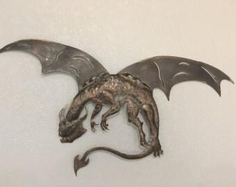 Dragon of  Steel Metal Art