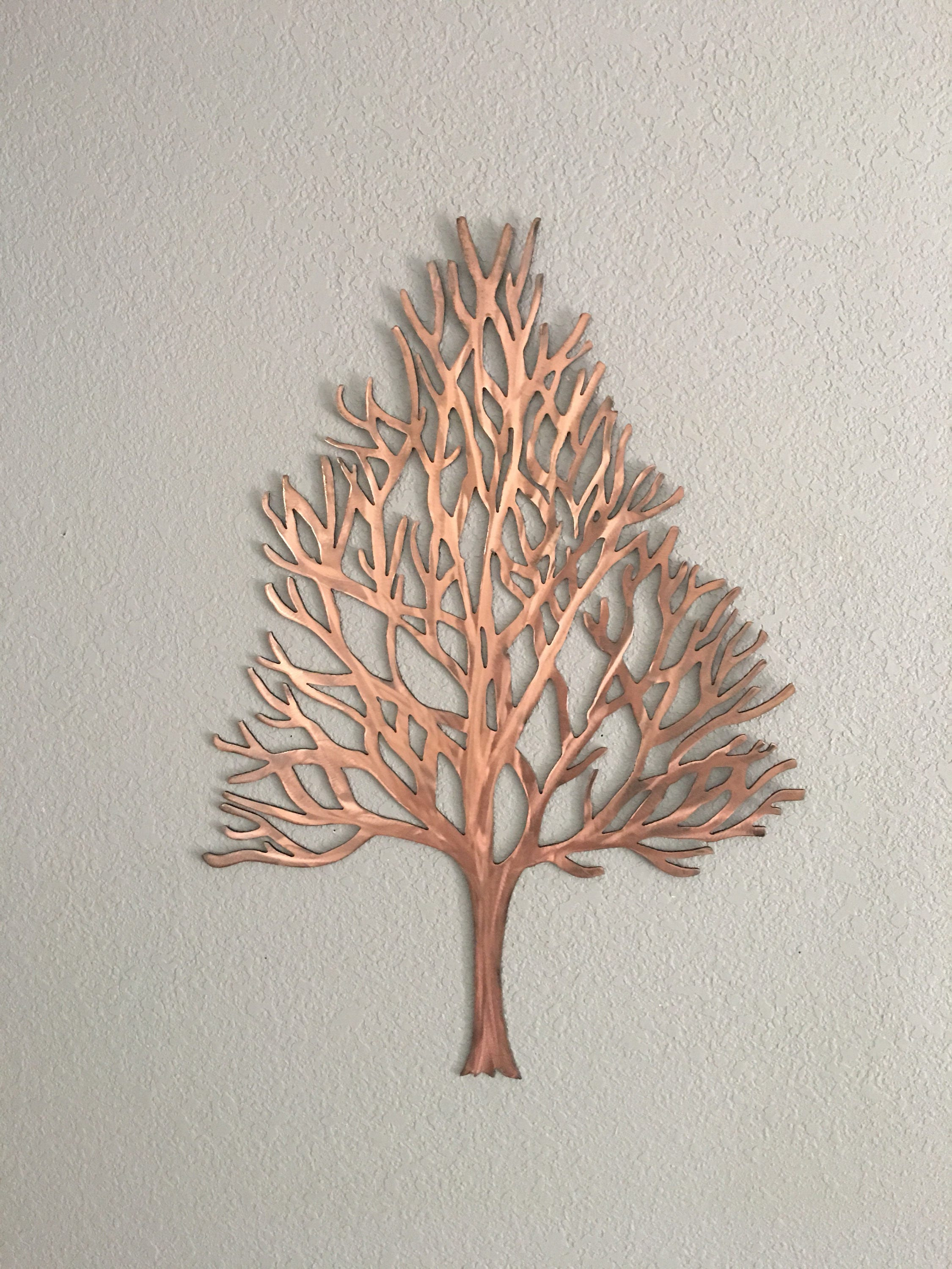 Metal Tree Wall Hanging Winter Maple Tree  Metal Tree  Home Decor  Wall Hanging  Metal Art