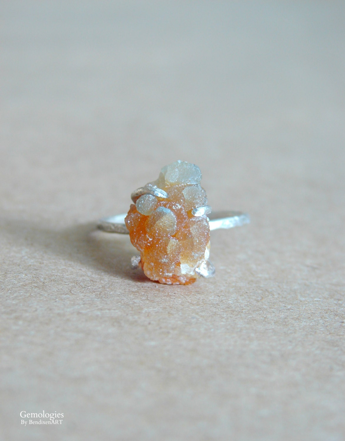 Raw Crystal Ring for H...