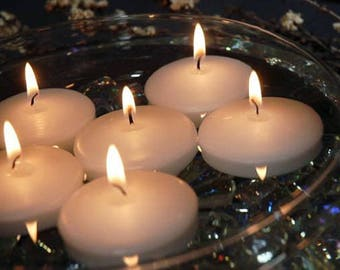 24 Candles- 3 inch Unscented Floating Candles
