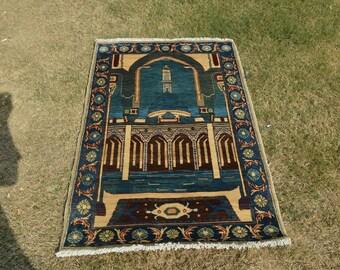 Turkman Prayer Rug