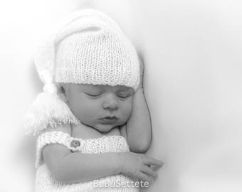 Bonnet Newborn photography handmade creations MADE IN ITALY 100%