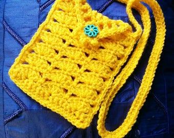 Yellow phone bag