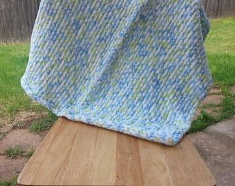 Sea and Land Baby Blanket