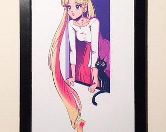 Sailor Moon 11x17 Print