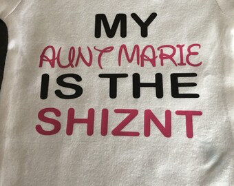 Who's The SHIZNT onesie