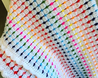Block Stitch Blanket