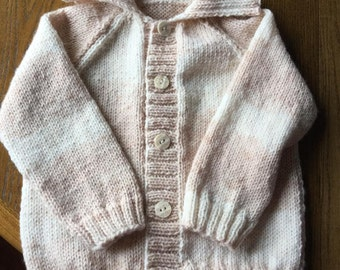 Hand knitted Boy's Cardigan