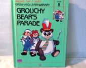 Raggedy Ann and Andy Series book Grouchy Bears Parade Grow and Learn Library volume 8 vintage 1988