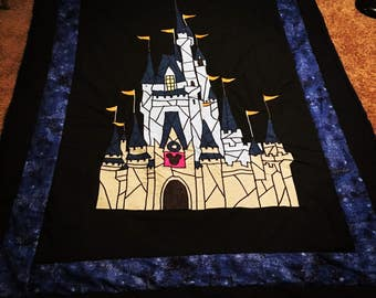 Stained Glass Castle Quilt