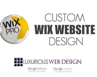 Custom Wix Website, Wix Website, Wix Design, Wix Template, Wix Theme, Wix Customization, Wix Help, Wix Website Design, Website Design