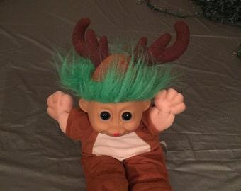 Loving used Reindeer Christmas Troll